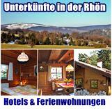 Hotels & Ferienwohnungen in der Rhön